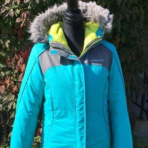 ZeroXposur ski winter jacket. Two pieces.